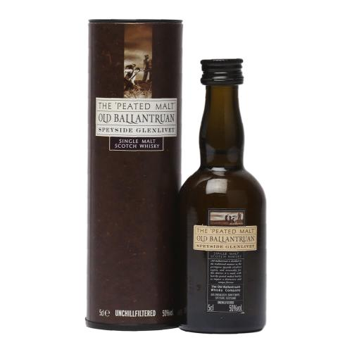 Old Ballantruan Peated Miniature - 5cl 50%