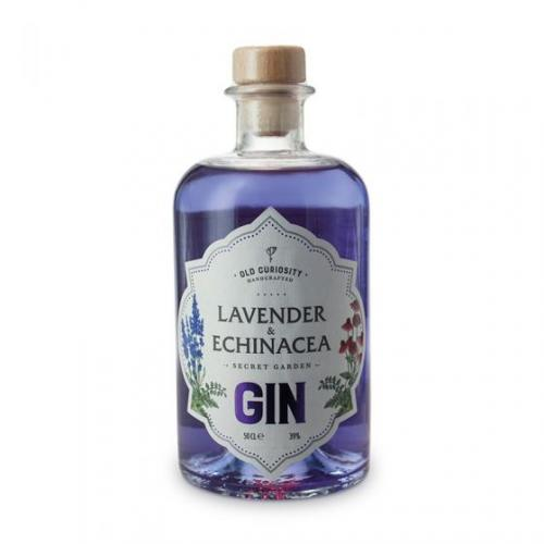 Old Curiosity Lavender & Echinacea Gin - 50cl 39%