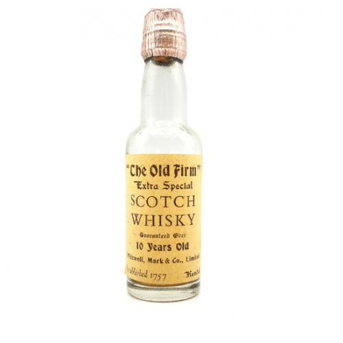 The Old Firm 10 Year Old Extra Special Scotch Whisky Miniature - 5cl