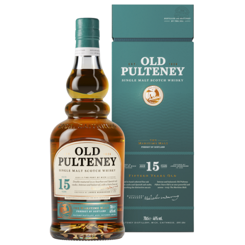 Old Pulteney 15 Year Old - 70cl 46%