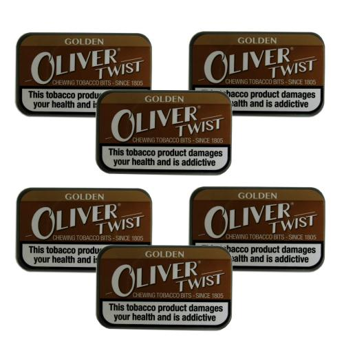 Oliver Twist Golden - Smokeless Tobacco Bits 7g Pack x 6 (6)