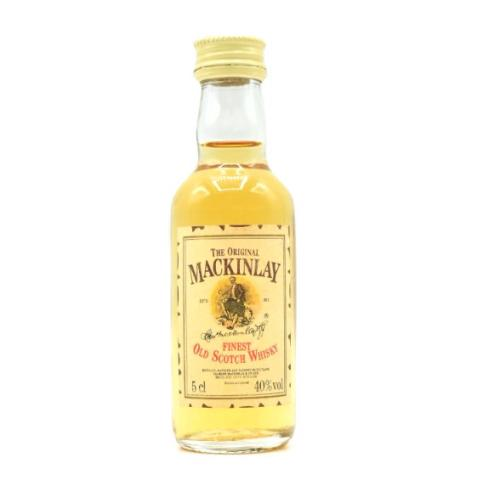 Mackinlay Finest Old Scotch Whisky Miniature - 40% 5cl