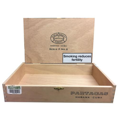 Empty Partagas Serie P No.2 Cigar Box