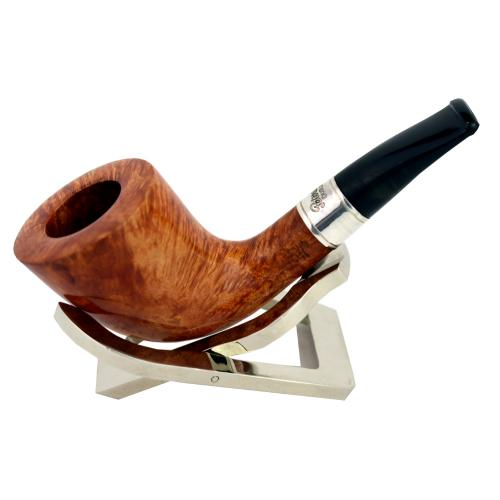 Peterson Outdoor Natural Series D6 Silver Mounted Fishtail Pipe (PE137)
