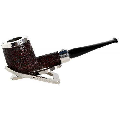 Peterson Silver Cap X105 Army Silver Mounted Fishtail Pipe (PE674)