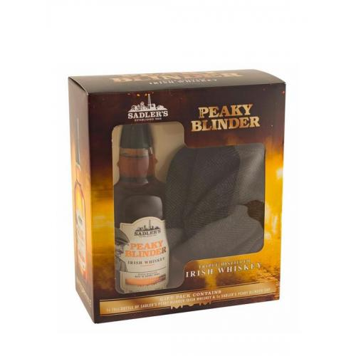 Peaky Blinders 70cl Whiskey With Gatsby Style Cap