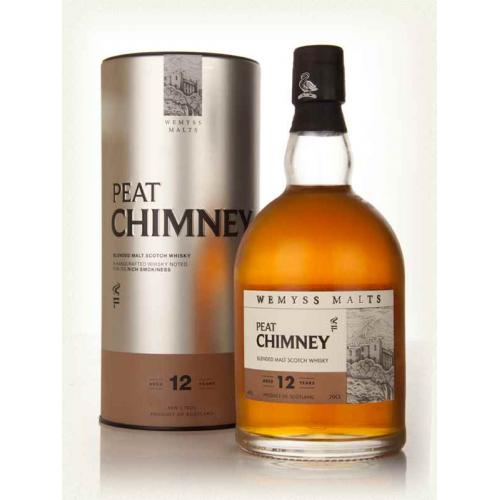 Peat Chimney 12 Year Old (Wemyss Malts) Blended Malt Scotch Whisky - 70cl 40%