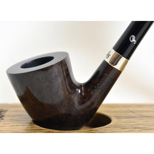 Peterson Churchwarden D15 Grey Nickel Mounted Fishtail Pipe (PEC151)