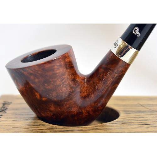 Peterson Churchwarden D15 Smooth Nickel Mounted Fishtail Pipe (PEC159)