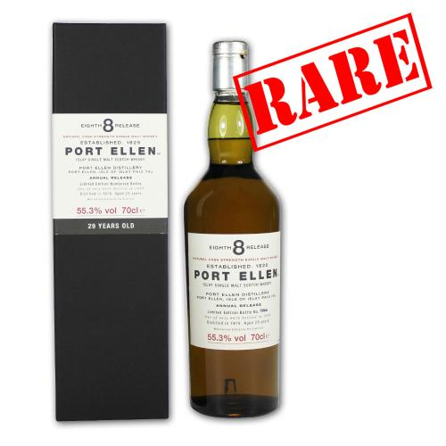 Port Ellen 29 Year Old 1978 8th Release Whisky - 70cl 55.3%