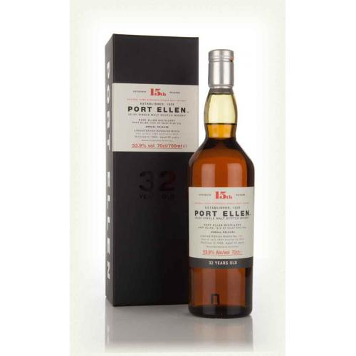 Port Ellen 32 Year Old 1983 Special Release 2015 Whisky - 70cl 53.9%