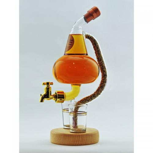Pot Still Tap and 2 Glasses - 350ml (Stylish Whisky) 40%