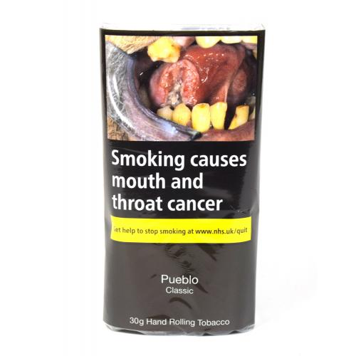 Pueblo Classic Hand Rolling Tobacco (Additive Free) 30g (Pouch)
