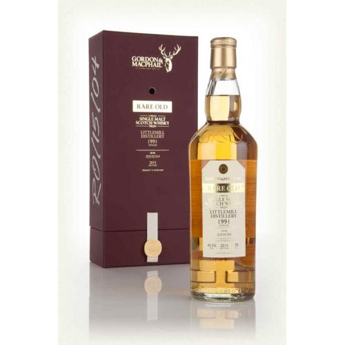 Rare Old Littlemill 1991 Single Malt Scotch Whisky - 70cl 45.5%