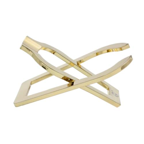 Rattrays Single Folding Pipe Rest Stand - Gold