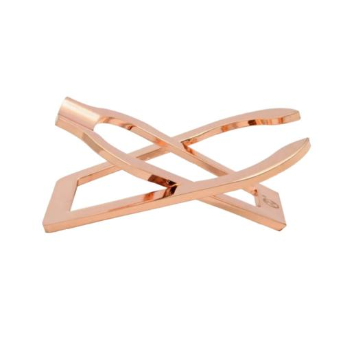 Rattrays Single Folding Pipe Rest Stand - Rose Gold