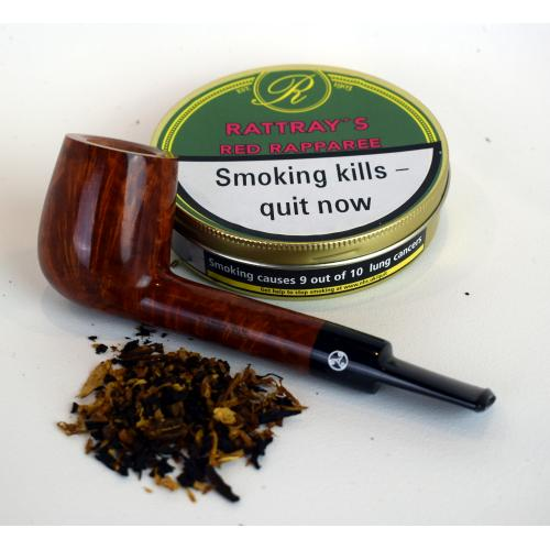 Rattrays Red Rapparee Pipe Tobacco (Tin)
