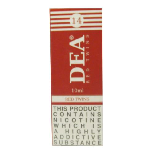 DEA Red Twins Vape E- Liquid 3 x 10ml 14mg