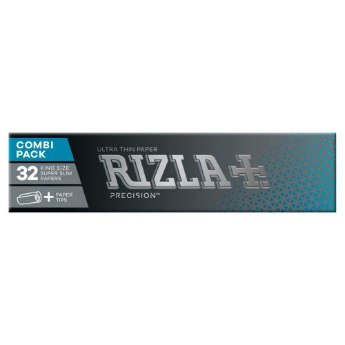 Rizla Precision Kingsize Combi Rolling Papers + Paper Tips 1 Pack