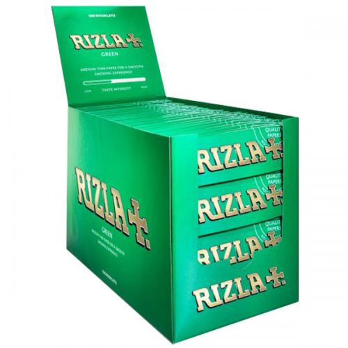 Rizla Regular Green Rolling Papers 100 packs