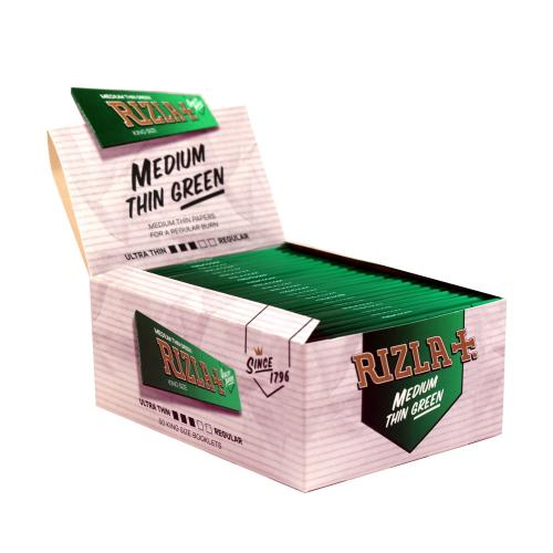 Rizla Kingsize Green Rolling Papers 50 Packs