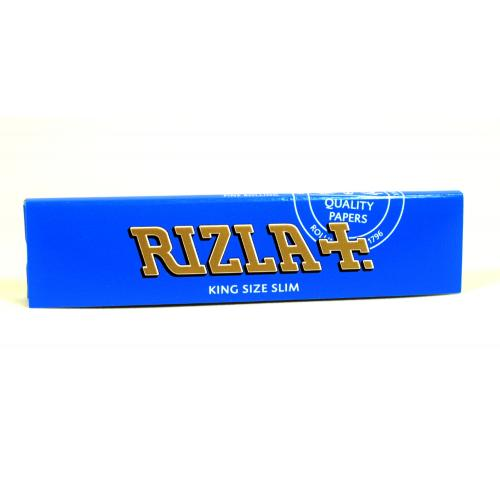 Rizla Kingsize Blue Slim Rolling Papers 1 Pack
