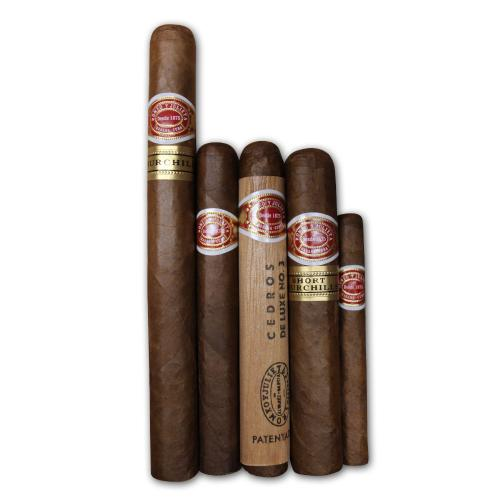 Romeo y Julieta Mixed Selection Sampler - 5 Cigars