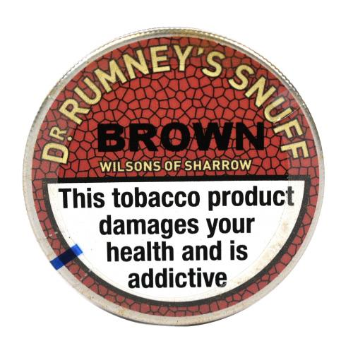 Dr. Rumney\'s Brown Snuff - Small Tap Tin - 5g