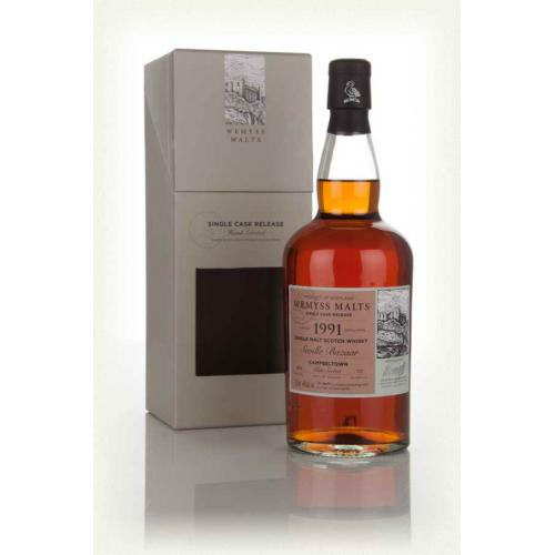 Wemyss Seville Bazaar 24 Year Old 1991 (Glen Scotia) - 70cl 46%