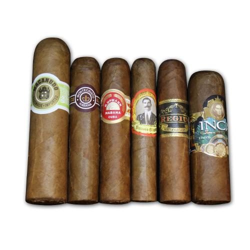 Short and Quick Smokes Sampler - 6 Cigars