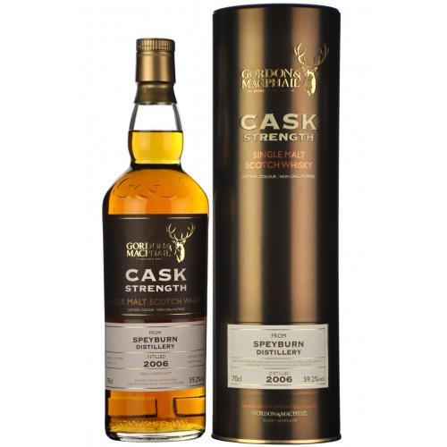 Speyburn 2006 Cask Strength Single Malt Scotch Whisky - 70cl 59.2%
