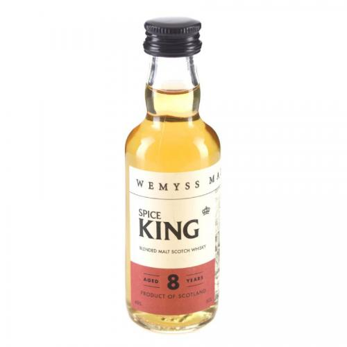 Wemyss Spice King 8 Year Old Whisky Miniature - 5cl 40%