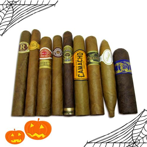 The Spooktacular Halloween Sampler - 9 Cigars