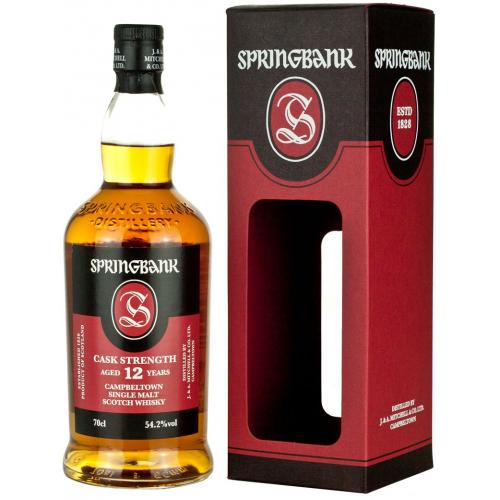 Springbank 12 Year Old Cask Strength 2017