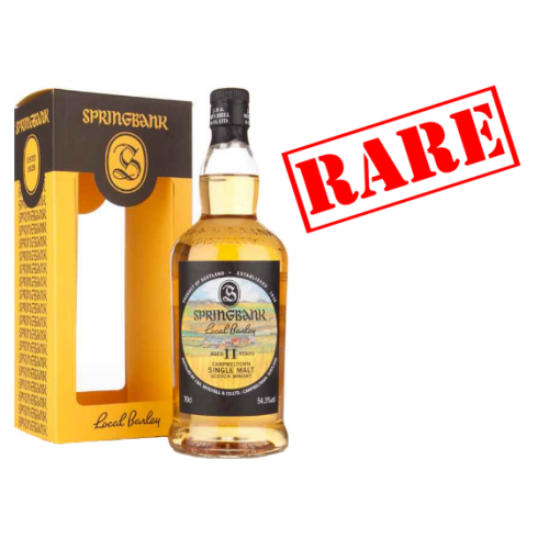 Springbank 11 Year Old Local Barley Single Malt Scotch Whisky - 70cl 53.1%