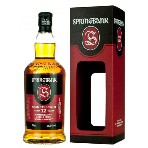 Springbank 12 Year Old Cask Strength Mid 2018 - 70cl 56.3%
