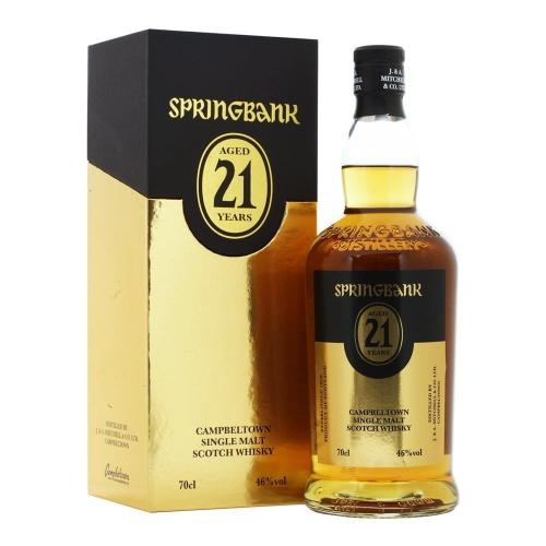 Springbank 21 Year Old 2019 Release - 70cl 46%