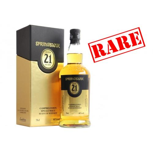 Springbank 21 Year Old 2015 Single Malt Scotch Whisky - 70cl 46%