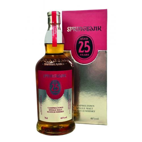 Springbank 25 year old 2020 Edition - 46% 70cl
