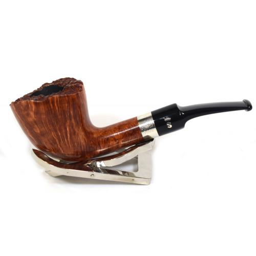 Stanwell Pipe Of The Year Light 2020 Flame Grain Silver Mounted Fishtail Pipe (ST41)