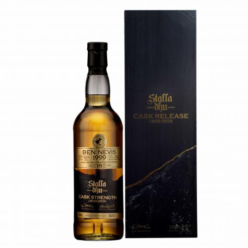 Stalla Dhu Single Cask Ben Nevis 18 Year Old Cask Strength Whisky - 70cl 56%