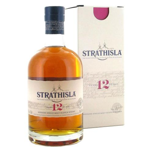 Strathisla 12 Year Old Single Malt Scotch Whisky - 70cl 40%