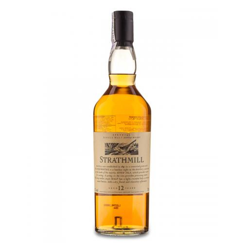 Strathmill 12 Year Old Flora and Fauna Single Malt Scotch Whisky - 70cl 43%