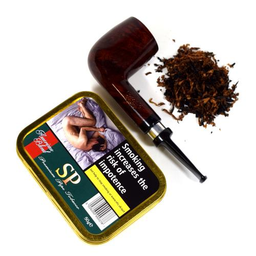 American Blends Sweet Peach Pipe Tobacco 50g Tin