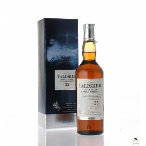Talisker 25 Year Old Single Malt Scotch Whisky - 70cl 45.8%