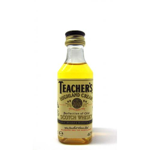Teachers Highland Cream Blended Scotch Whisky Miniature - 5cl 40%