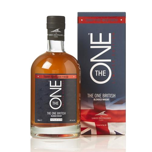 Lakes Distillery The One Tawny Port Finish Whisky - 70cl 40%