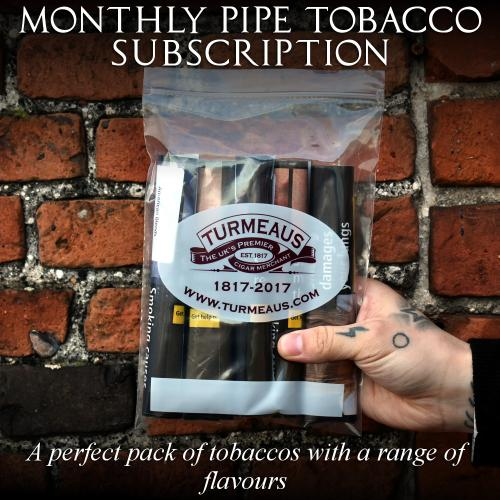 Monthly PIPE TOBACCO Sampler Subscription
