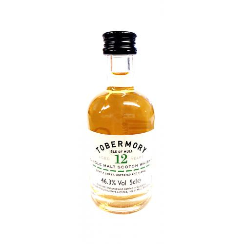 Tobermory 12 Year Old Miniature - 5cl 46.3%