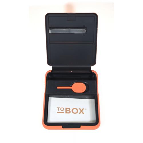 To Box First Edition Rolling Tobacco Box - Orange